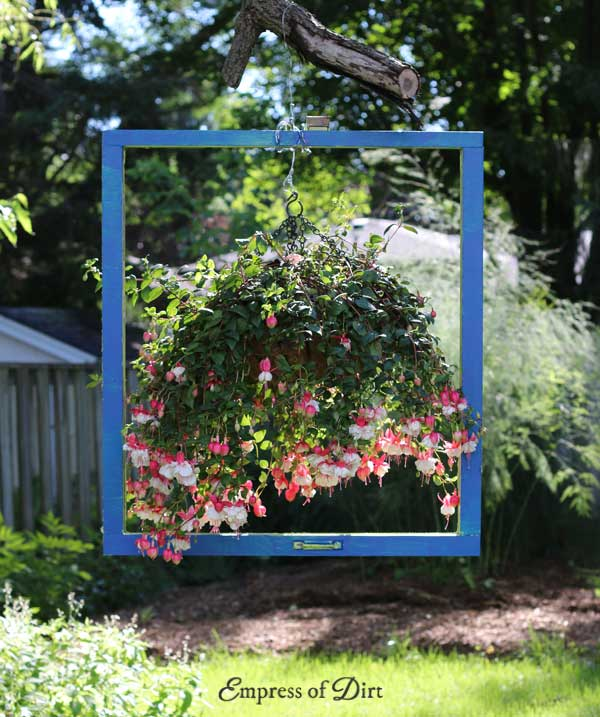 Hanging Picture Frame Flowers
