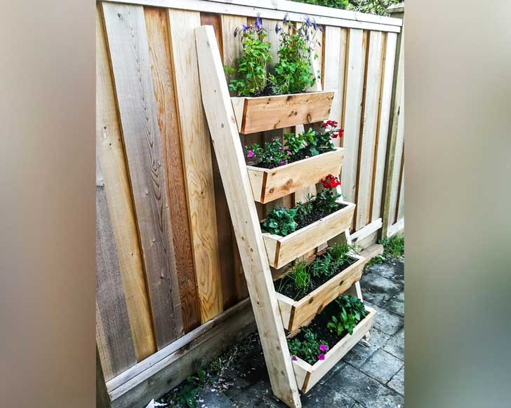 Staircase planter by bstoreus on etsy