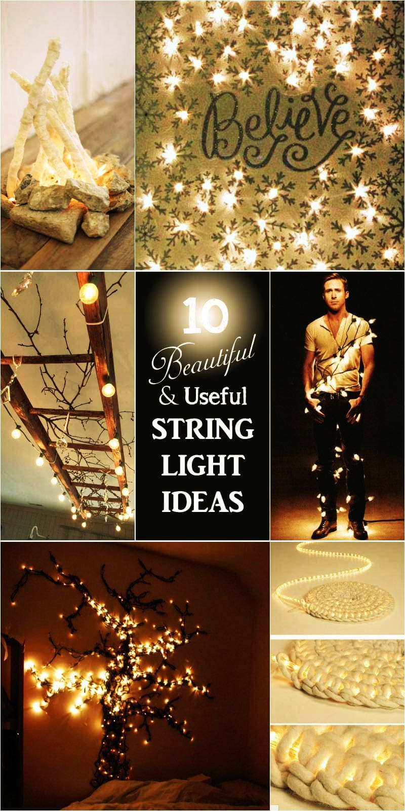 12 Creative Uses for String Lights