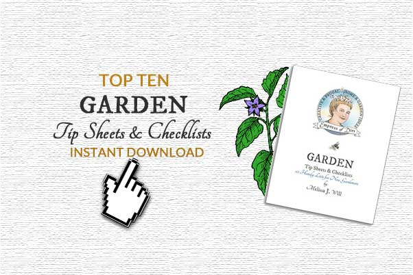 10 Best Garden Tip Sheets & Checklists | Instant Download