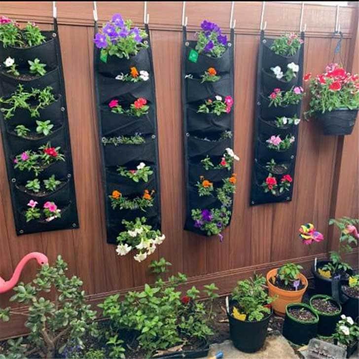 Planter bags by handmadecraft on etsy