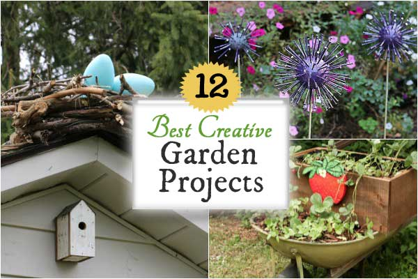 These creative and frugal garden projects are the top picks of the year. Favourites include repurposed garden art, unique bird and butterfly feeders, smart and functional growing spaces, and pond ideas.