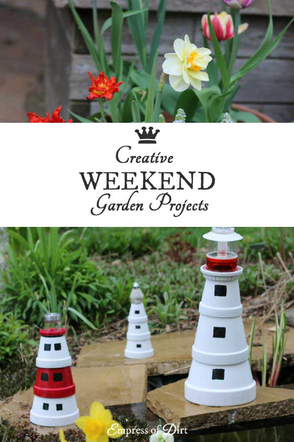 12 Creative Weekend Garden Projects