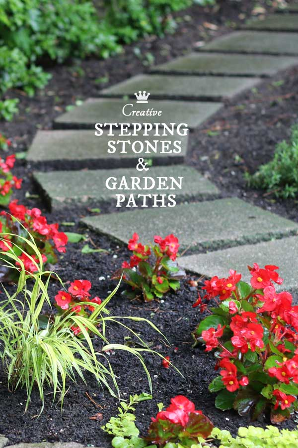 12 stepping stone garden path ideas empress of dirt for Stepping stone designs garden layouts