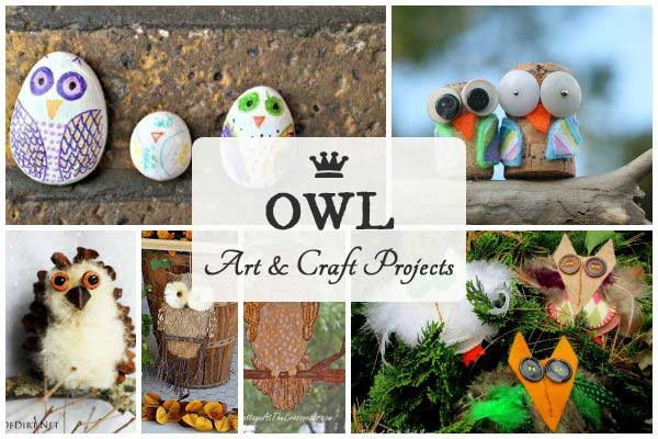 12 Owl Art & Craft Projects