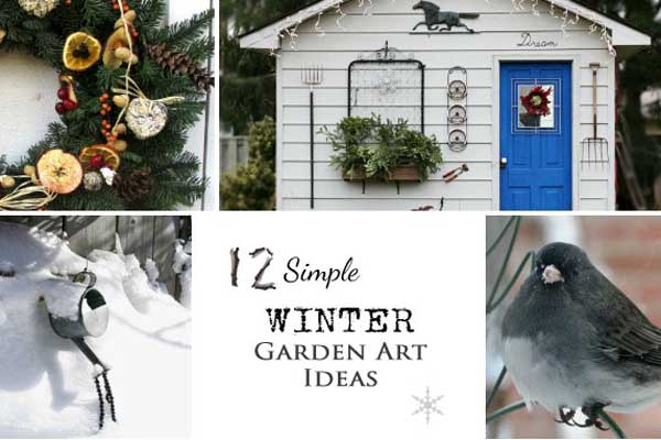 Winter Garden Ideas find this pin and more on winter container gardens wreaths 12 Simple Winter Garden Art Ideas Empress Of Dirt