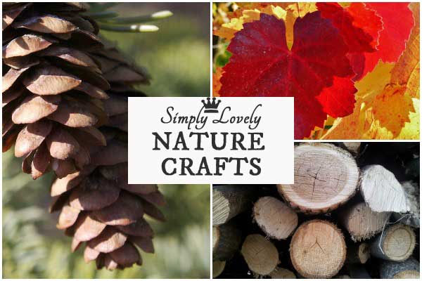 12 Simply Lovely Nature Crafts