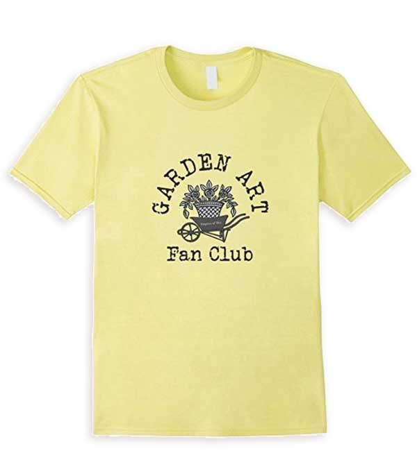 Garden Art Fan Club T-Shirt by Empress of Dirt