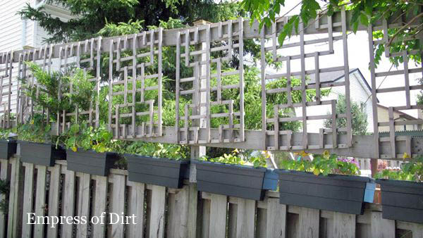 Privacy makes a backyard garden even better! These ideas show how to add fences and screens to protect your little paradise from prying eyes. Includes ideas for hiding chain link fence.