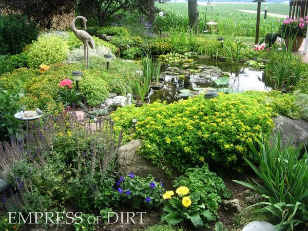 Natural Garden Pond Maintenance : hot tub or less) prefab garden pond or other little container pond