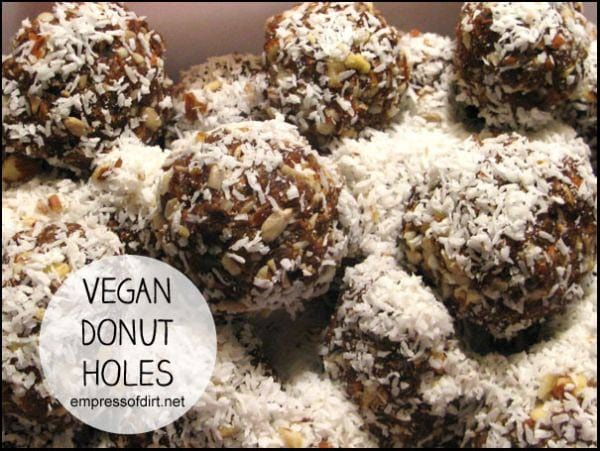 Vegan Donut Holes: A healthier, delicious treat - perfect for holiday gatherings