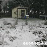 2011 Only three snowfalls all winter!
