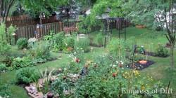 July 2012 Garden, slowly filling in.
