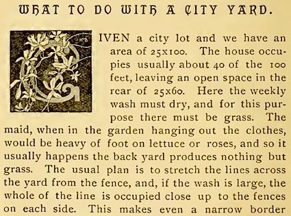 My Handkerchief Garden by Charles Barnard (1889)