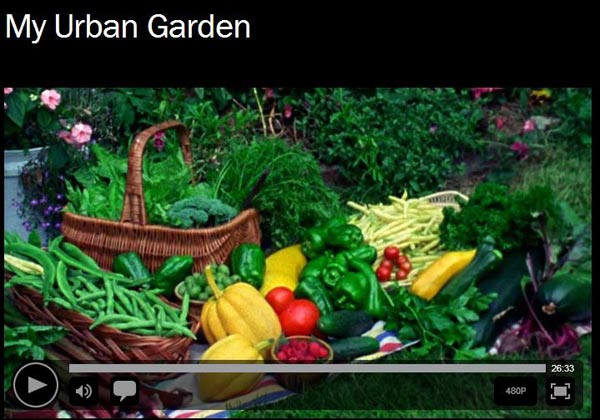 My Urban Garden documentary