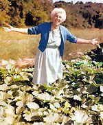 Ruth Stout the naked gardener