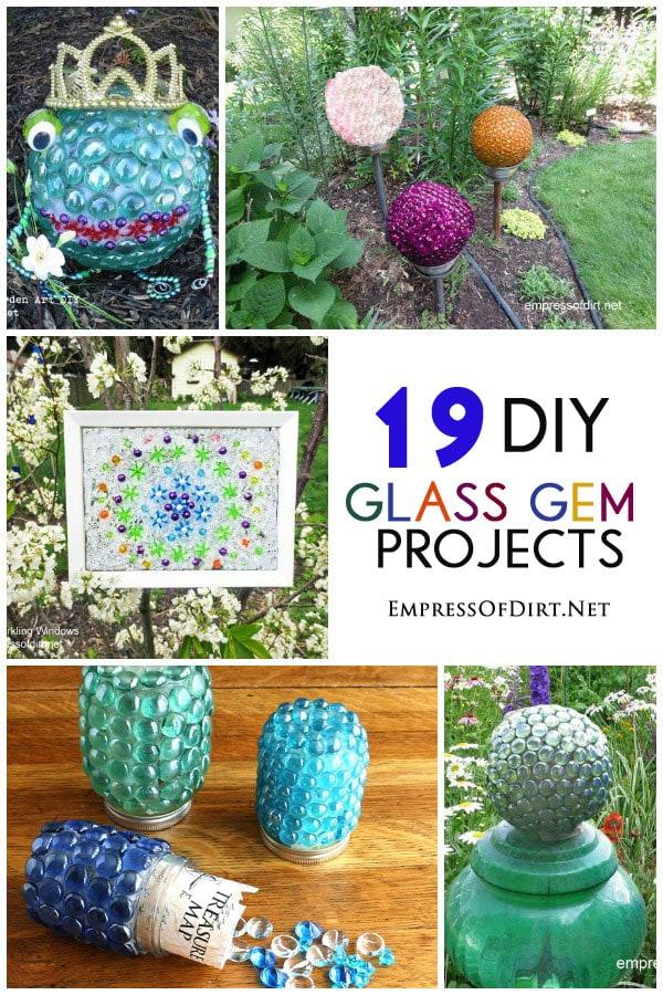 Glass Gem Garden Art & Craft Ideas *19 Projects* - Empress ...