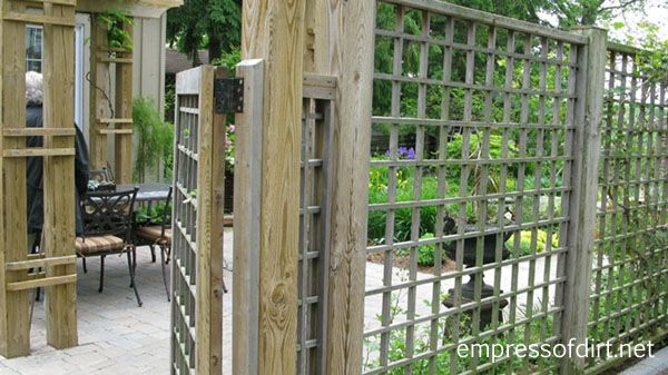 Garden Fence & Screen Privacy Ideas | Empress of Dirt