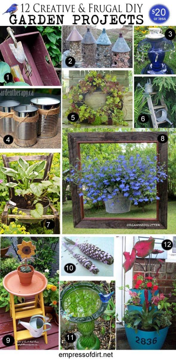 Creative garden art projects under 20 Empress of Dirt