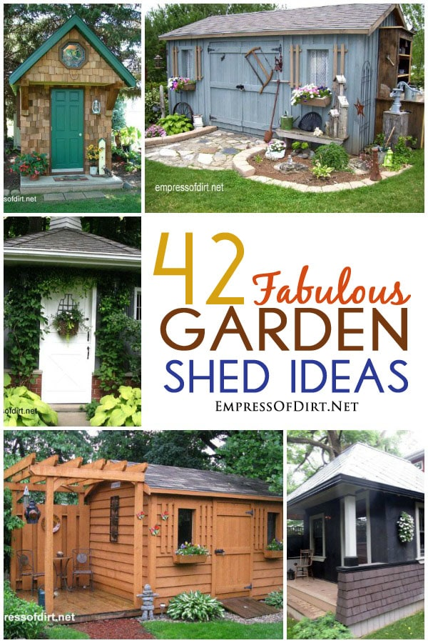 42 fabulous garden shed ideas - Shed Ideas Designs