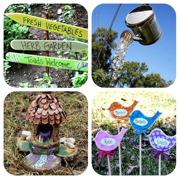 20 Useful And Easy Diy Garden Projects: 20 Garden Art Projects Under $20