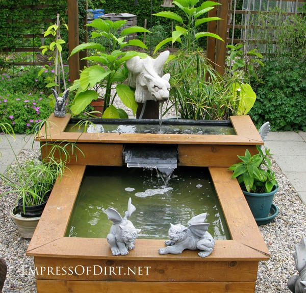 Build A Raised Pond: 16+ More Creative Garden Container Ideas