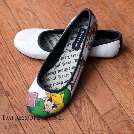 042d353d3d9056 How To Paint Shoes