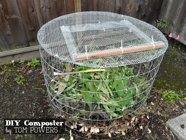 DIY Compost Bin by Tom Powers