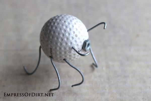 making golf ball bug