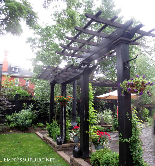 20 ways to create vertical interest in the garden with arbors trellis obelisks - Arbor Design Ideas