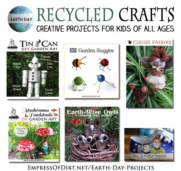 Earth Day Projects - creative projects for kids of all ages
