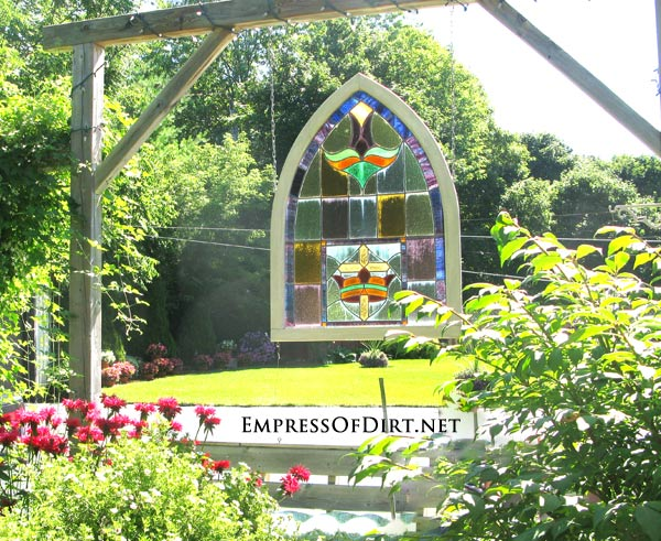 12+ Ideas For Using Doors And Windows In The Garden. Repurpose From The  Thrift