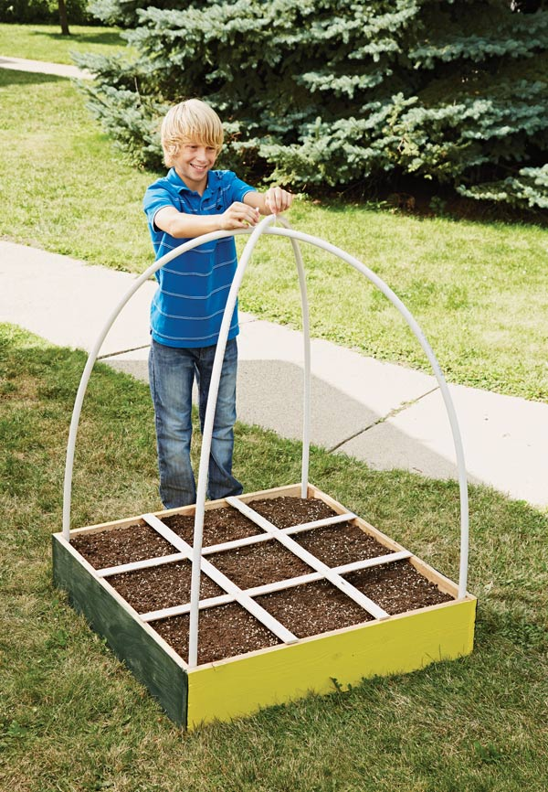 Step 4: Build your own dome greenhouse