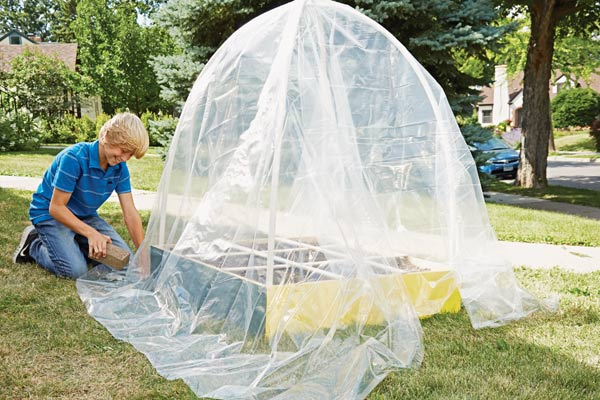 Step 6: Build your own dome greenhouse