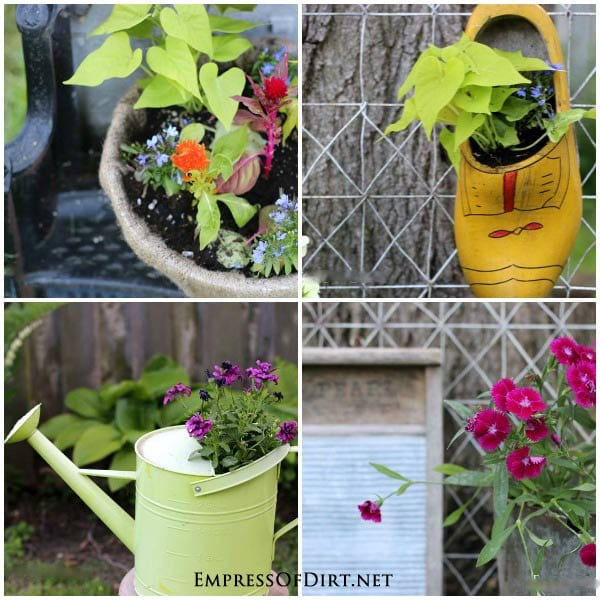 How to create gorgeous garden containers