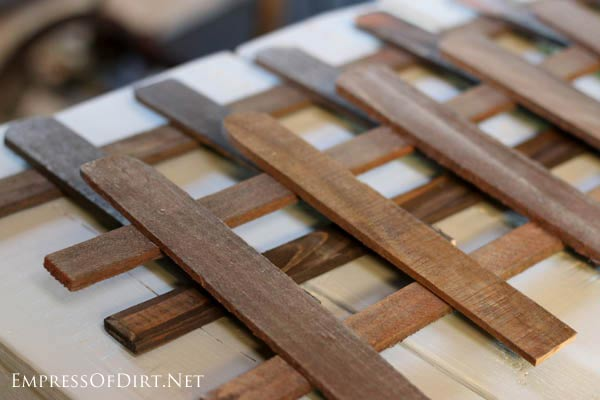 Fence Panels - Make A Window Greenhouse | DIY project at empressofdirt.net