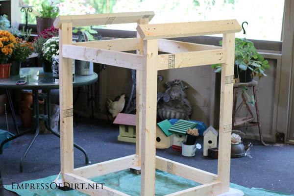 Frame For A Window Greenhouse | DIY project at empressofdirt.net