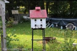 Repurposed Barstool Birdhouse