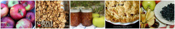 Best apple recipes for fall including apple crisp, jams, pies, pizza, and butter curated by empressofdirt.net