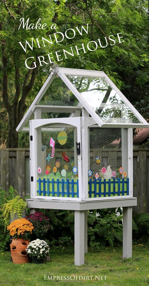 Make a window greenhouse
