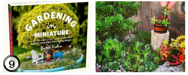 Gardening in Miniature - great reference book for creating wee gardens plus more sweet DIY garden ideas at empressofdirt.net