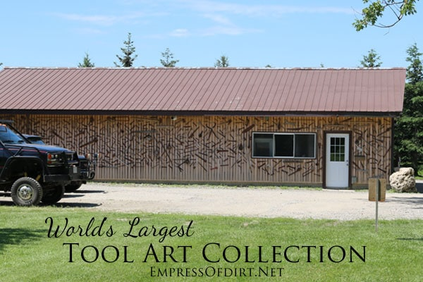 Worlds largest tool art collection