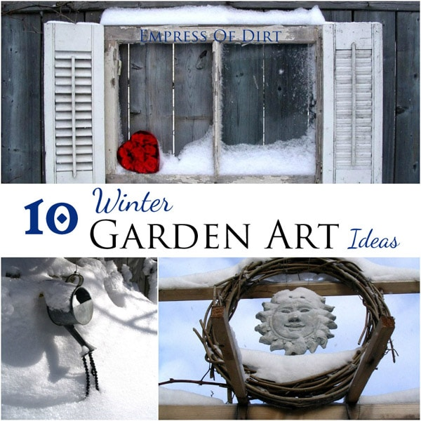 10 Winter Garden Art Ideas