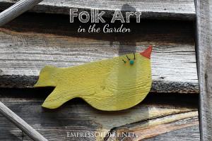 15 Creative Folk Art Ideas in the Garden