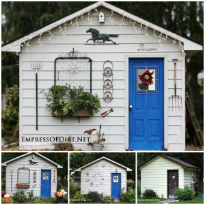 Rustic Shed Through the Seasons