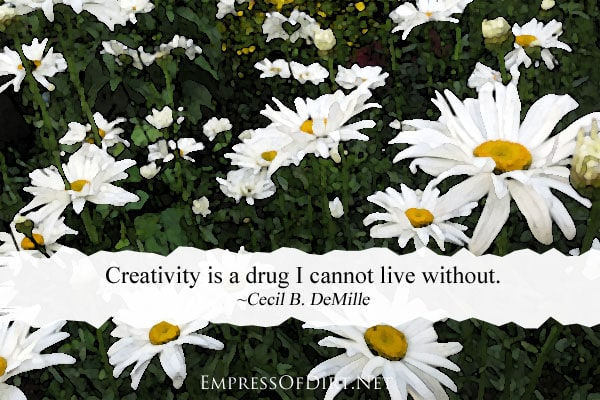 Creativity is a drug I cannot live without | How to re-discover your creativity
