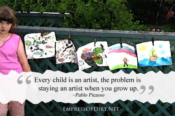 How to (re) discover your creativity | Every child is an artist, the problem is staying an artist when you grow up - Pablo Picasso