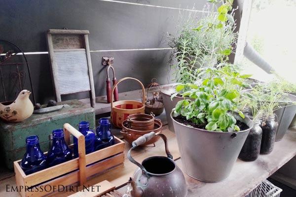 Money-saving garden tips: make your own garden art from unwanted stuff