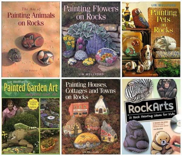 Books on stone painting.