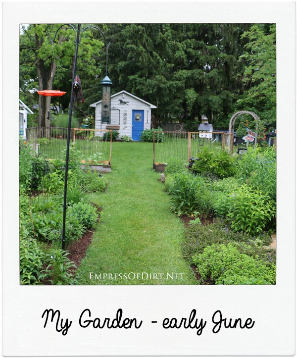 Tour of home garden in June (Ontario, Canada) - come get creative ideas for your garden!